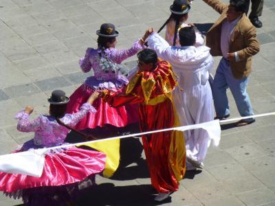 Danseurs, floklore, plaza San francisco1