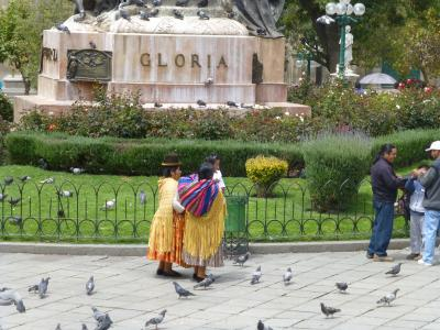Femmes plaza Murillo 1