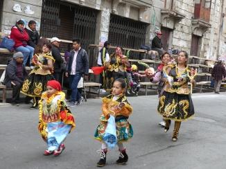 La Paz, Bolivie, fête du Grand Poder, 2017.